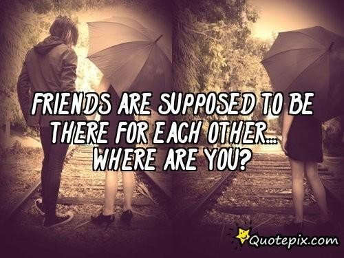 Sad Quotes About Lost Friendship Quotesgram: Sad Quotes About Friends. QuotesGram