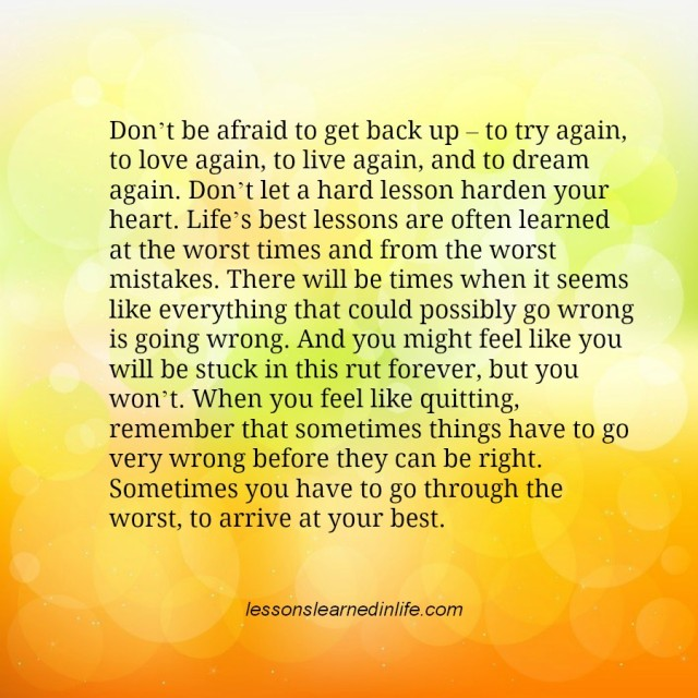Get Back Up Quotes: Quotes Of Life Getting Back Up. QuotesGram