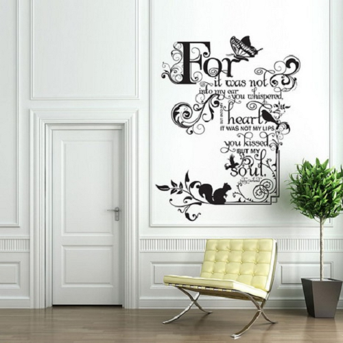 Living room wall art quotes quotesgram - Small wall decor ideas ...