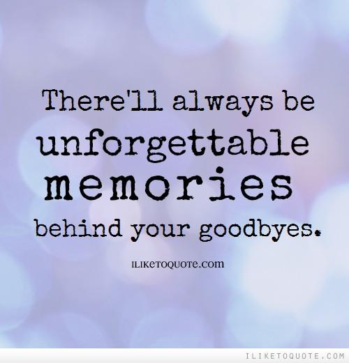 Friendship Memories Essay