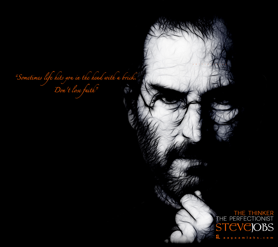 Inspirational Quotes By Steve Jobs: Steve Jobs Inspirational Quotes. QuotesGram