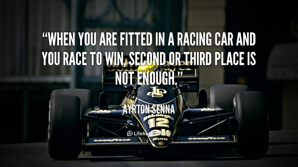 Race Car Movie Quotes