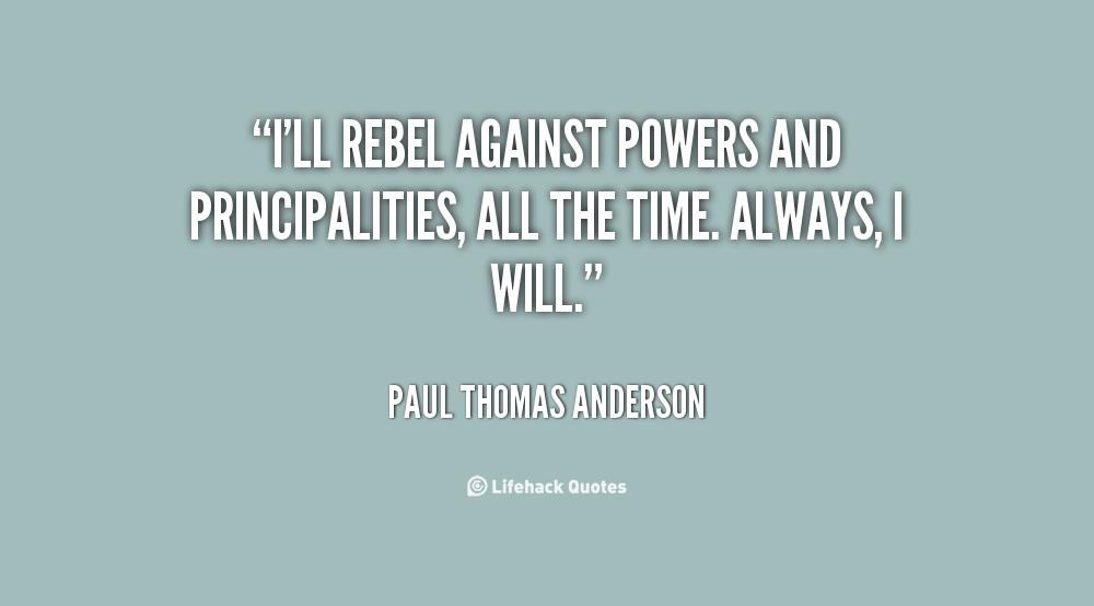 Paul Thomas Anderson Quotes. QuotesGram