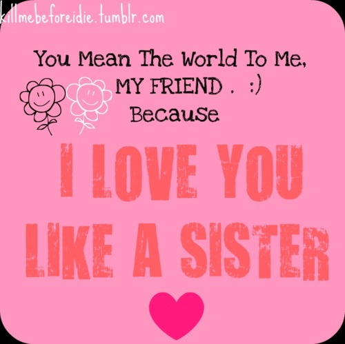 I Love You Quotes: Sisters Are Like Quotes. QuotesGram