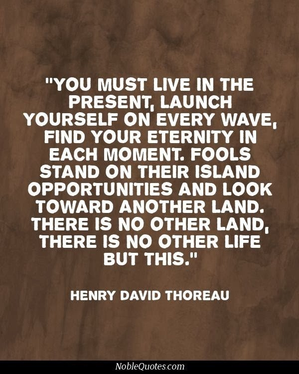 Henry D. Thoreau Quotations