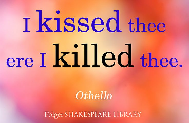 Important Quote from Othello