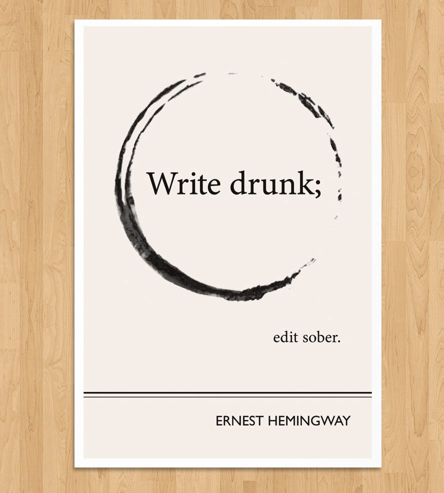 hemingway quotes on writing Ernest hemingway on writing is a compilation of his reflections on his writing process, .