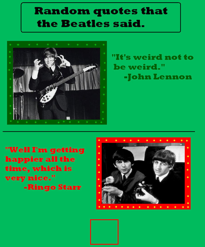 Best Quotes From The Beatles: Great Beatles Quotes. QuotesGram