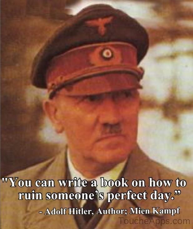 Fake Hitler Quotes. QuotesGram