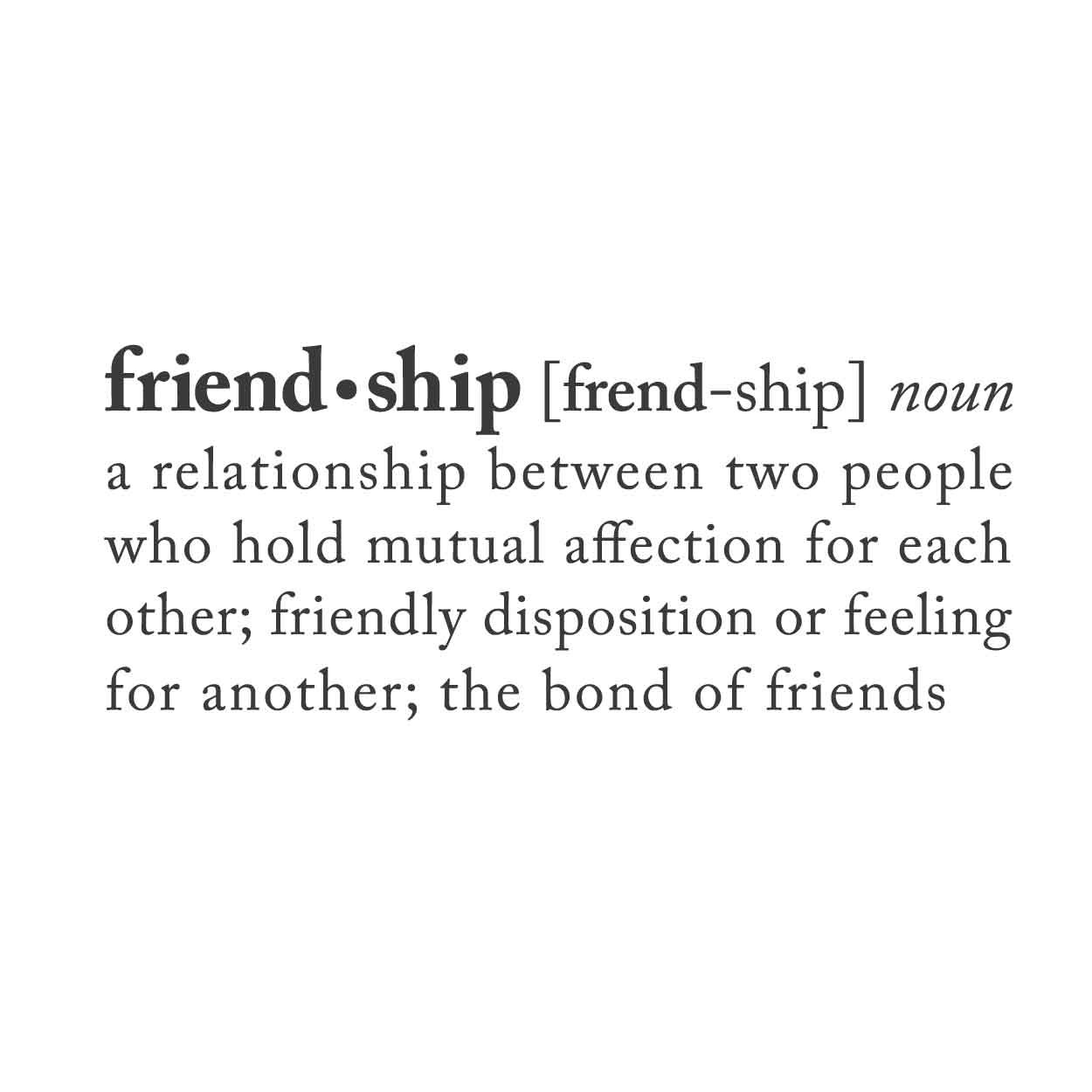 essays definition friendship