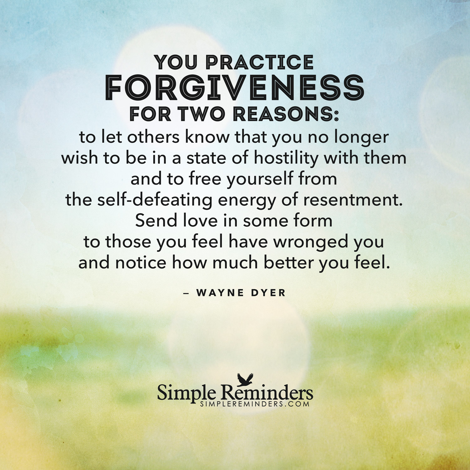 Forgiveness By Wayne Dyer Quotes. QuotesGram