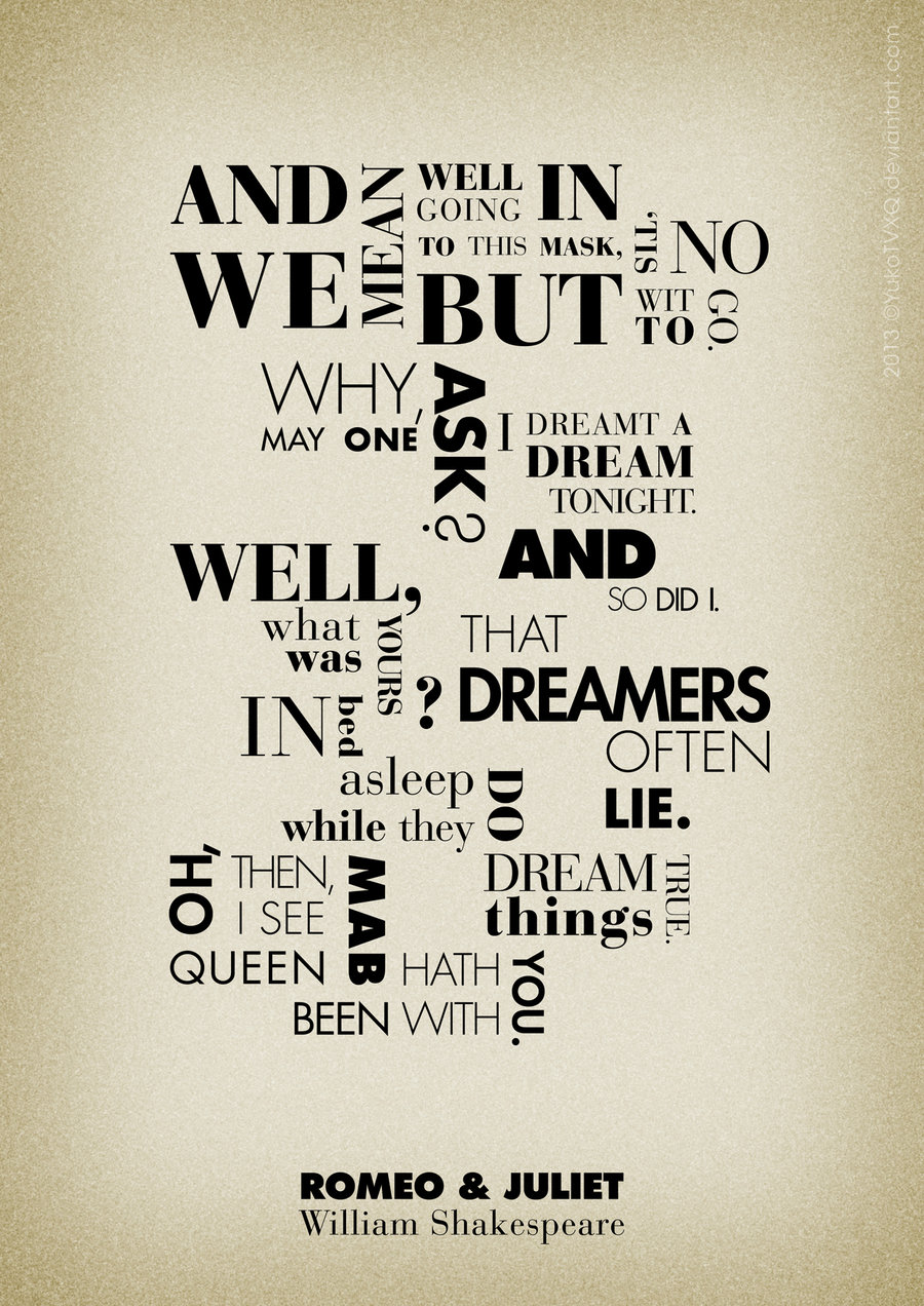 William Shakespeare Famous Quotes From Romeo Juliet