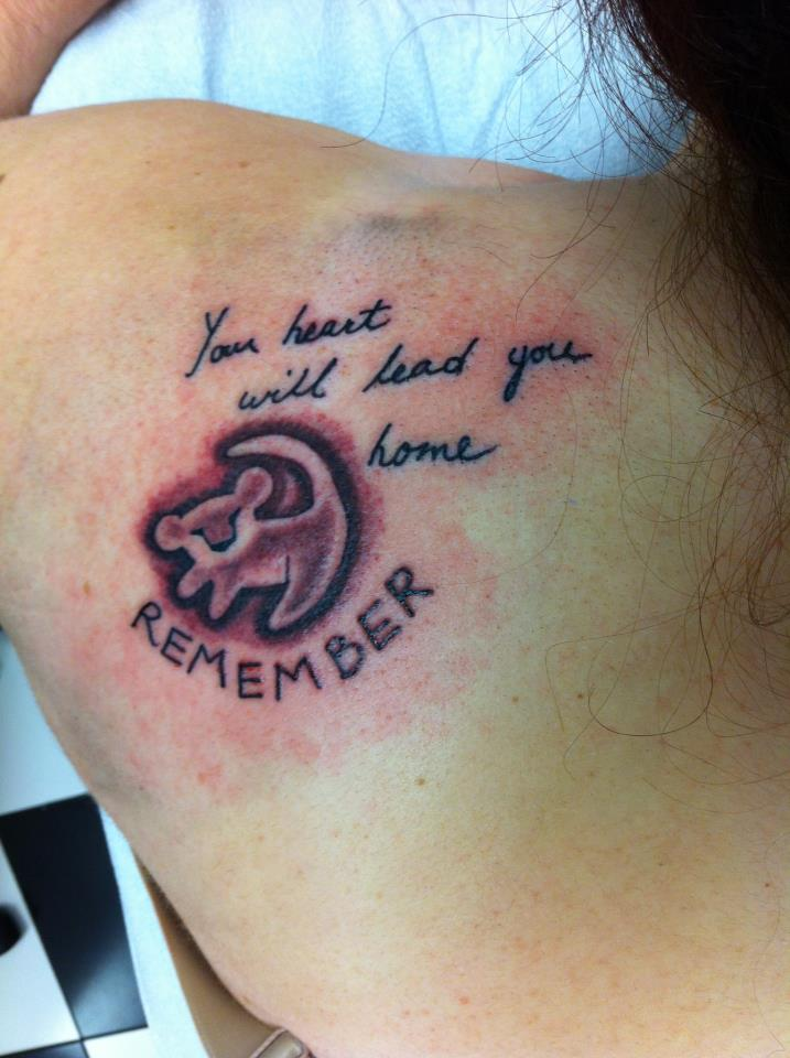 Tattoo Lion King Quotes Rafiki Quotesgram Lion tattoos carry a lot of symbolic meaning and have been in practice for the lion tattoo offers endless possibilities of designs and is a common and popular choice among men. tattoo lion king quotes rafiki quotesgram