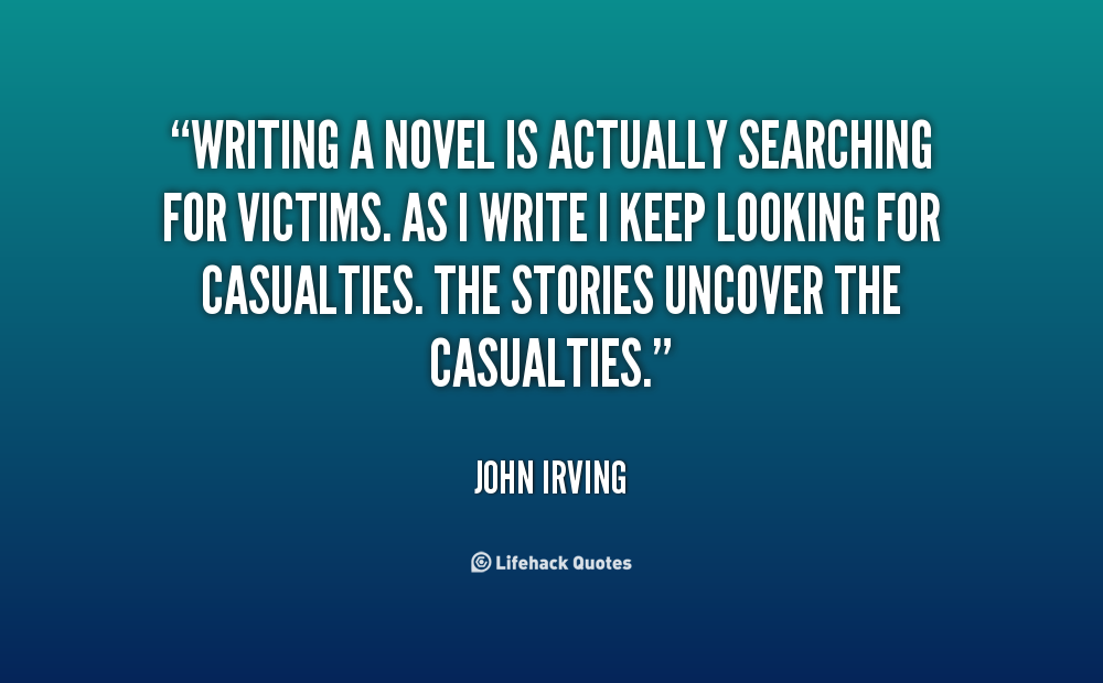 quote from novel in essay
