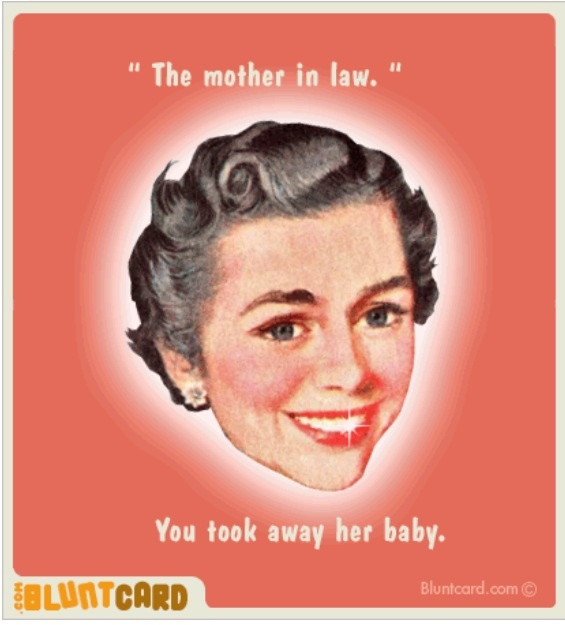 Loving Mother In Law Quotes: Sarcastic Quotes About In Laws. QuotesGram