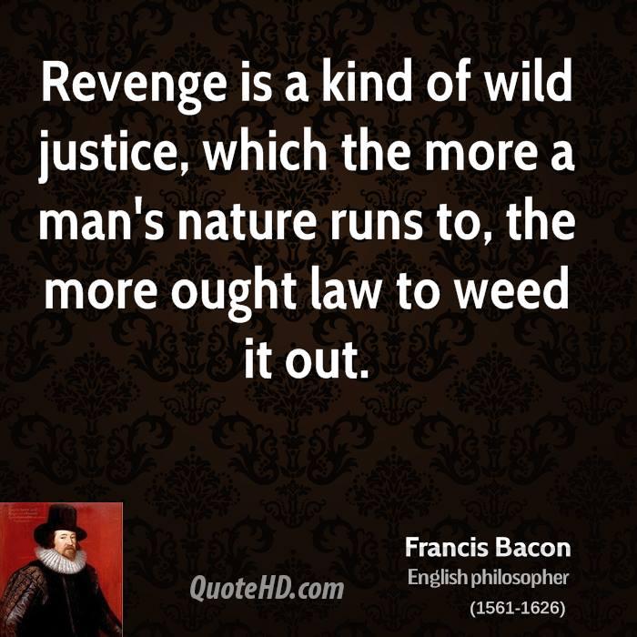 essays about revenge