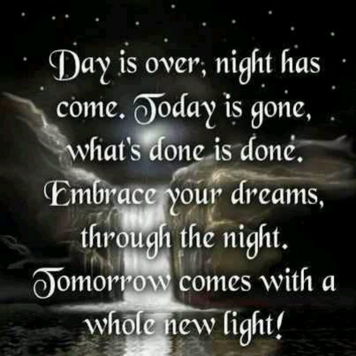Good Night Quotes And Poems Quotesgram