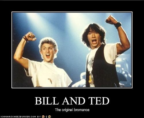 bill and teds excellent adventure ending relationship