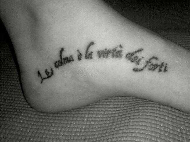 Italian Tattoo Quotes About Life. QuotesGram