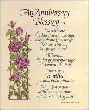 Anniversary Blessings Quotes