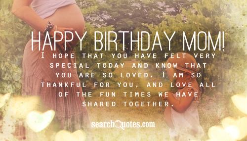 Happy Birthday Quotes For Daughter From Mom. QuotesGram