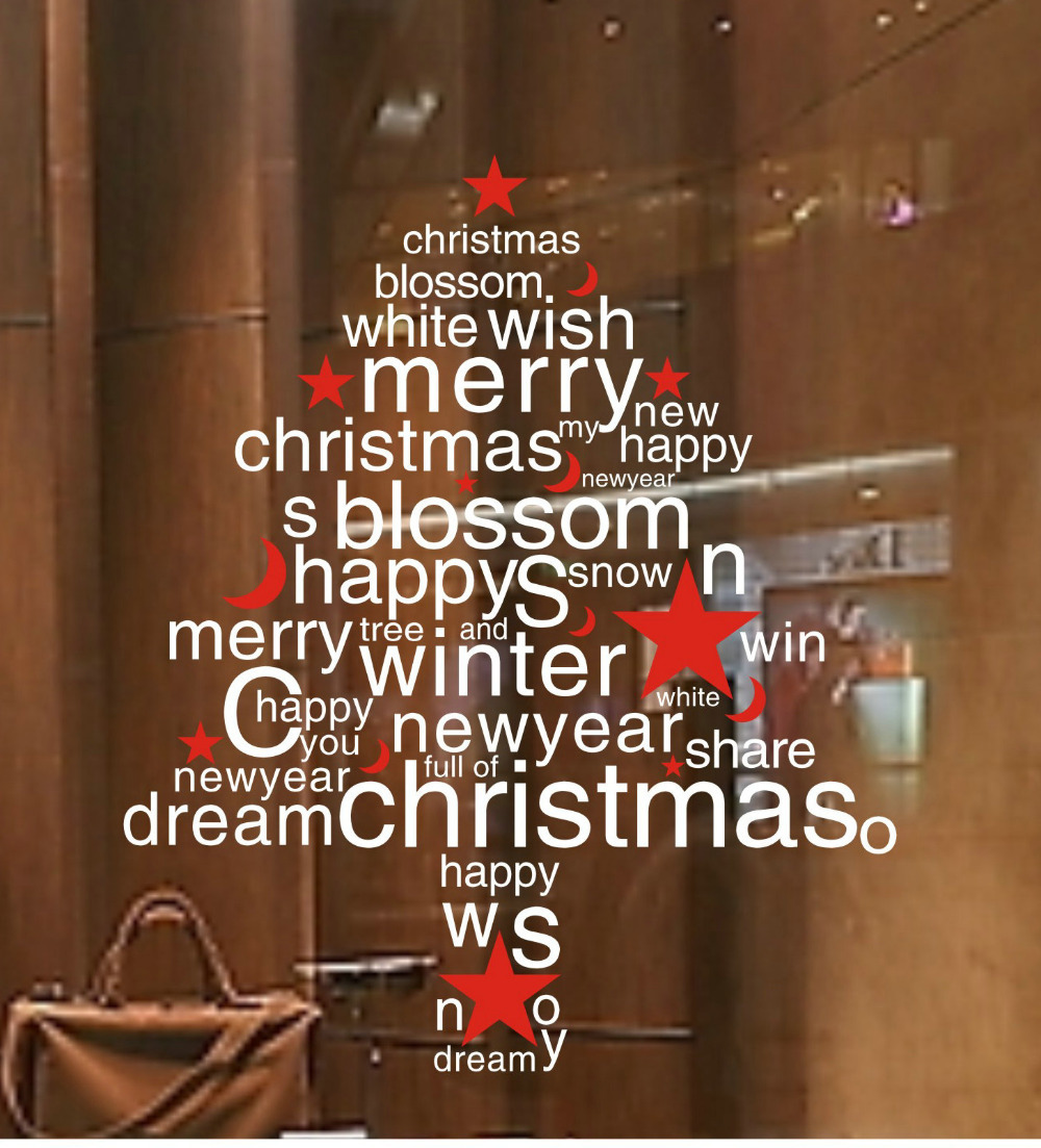 Christmas Decoration Wall Sticker