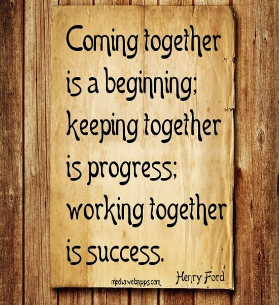 Father And Son Working Together Quotes: Famous Quotes About Coming Together. QuotesGram