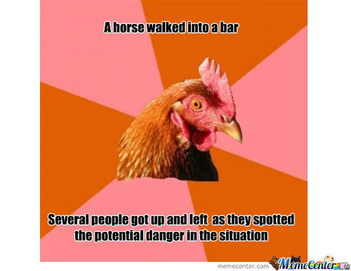 Funny Chicken Jokes: Funny Quotes About Serving Chicken. QuotesGram