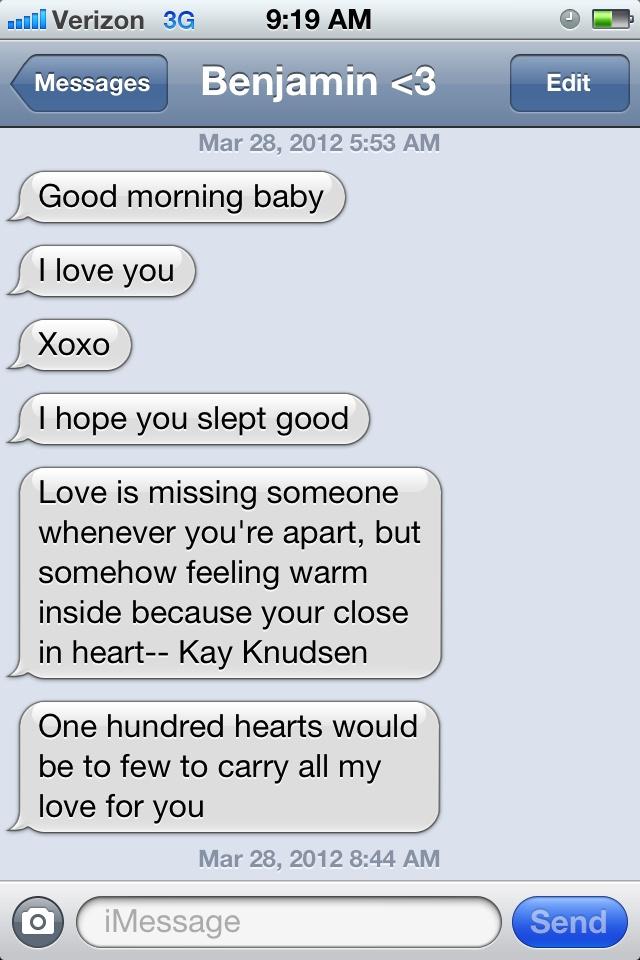 Boyfriend sweet for morning text 100+ Sweet