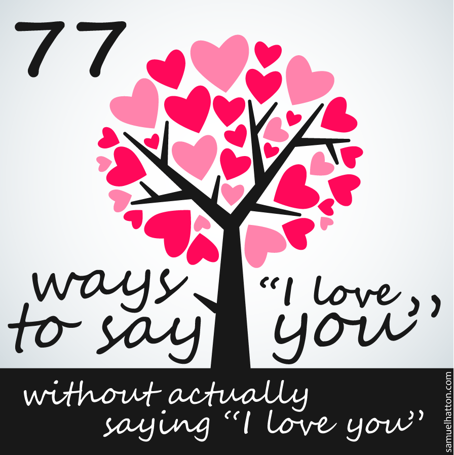 Ways To Say I Love You Quotes. QuotesGram