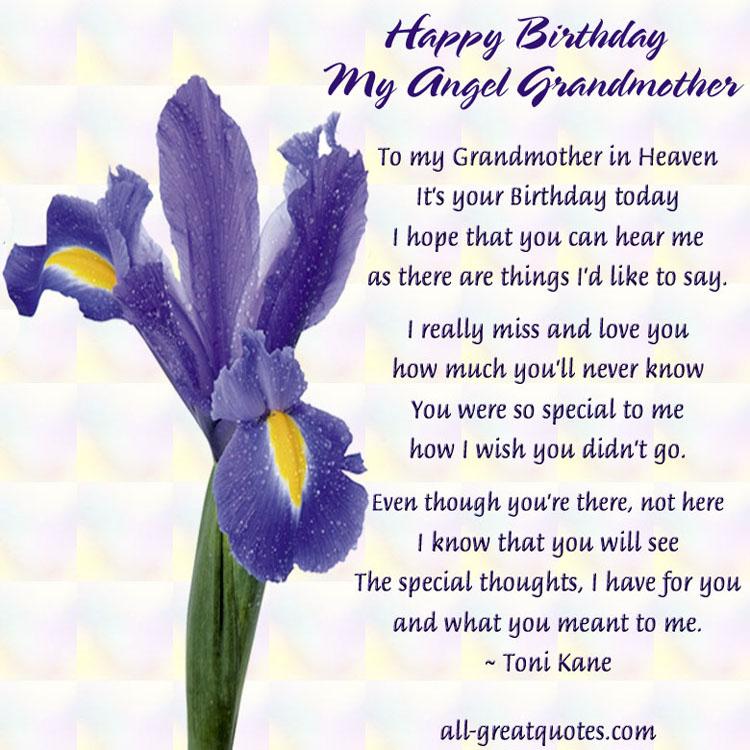 Grandma In Heaven Quotes. QuotesGram