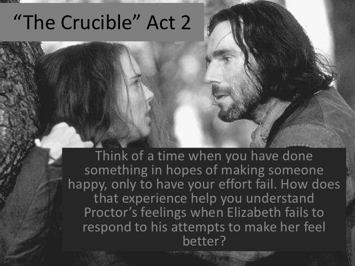 the crucible john proctors changes I'll go over the most important quotes from the crucible by the position elizabeth proctor has as john proctor's a black art to change your.