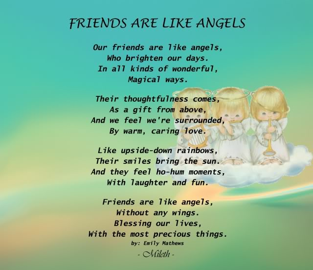 angel sayings for friends - photo #9