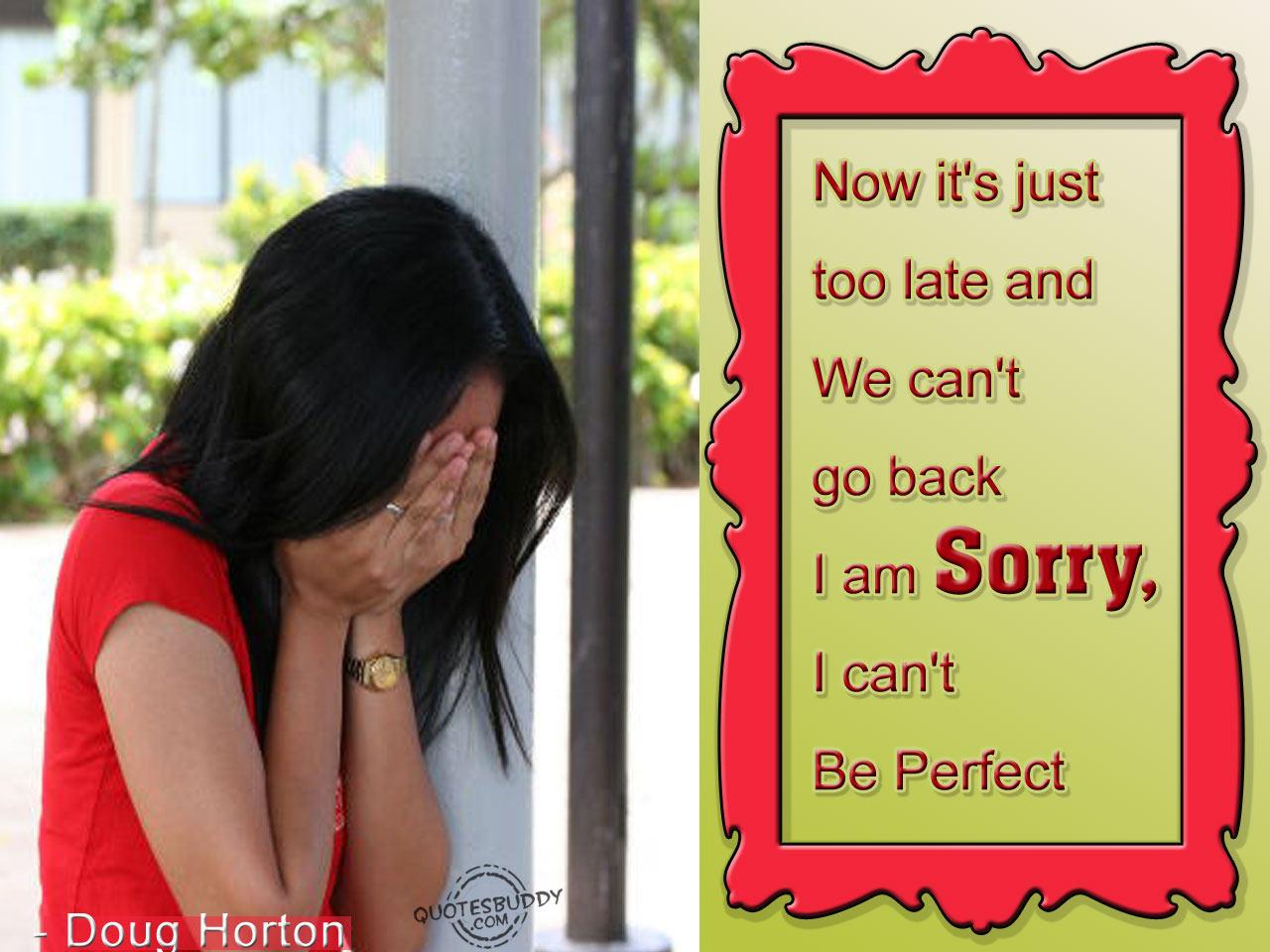 Poem to say sorry to boyfriend