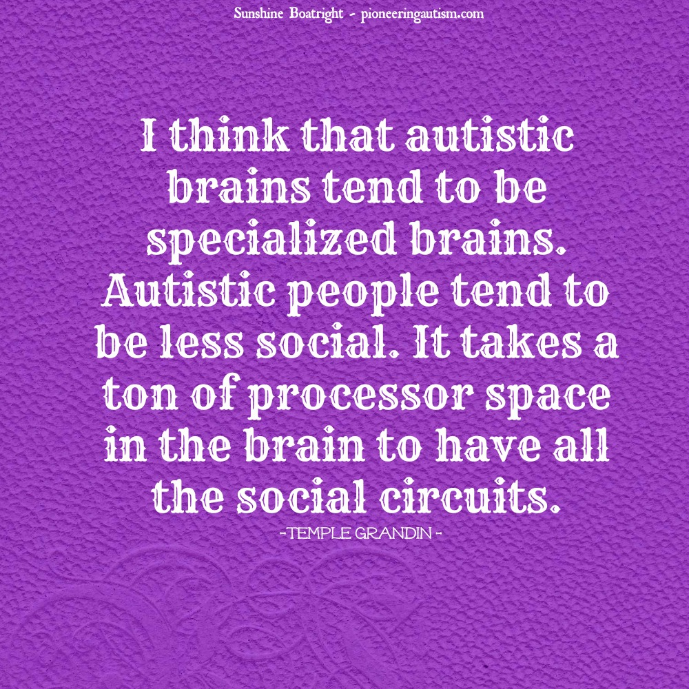 Inspirational Quotes About Positive: Quotes From Autistic People. QuotesGram