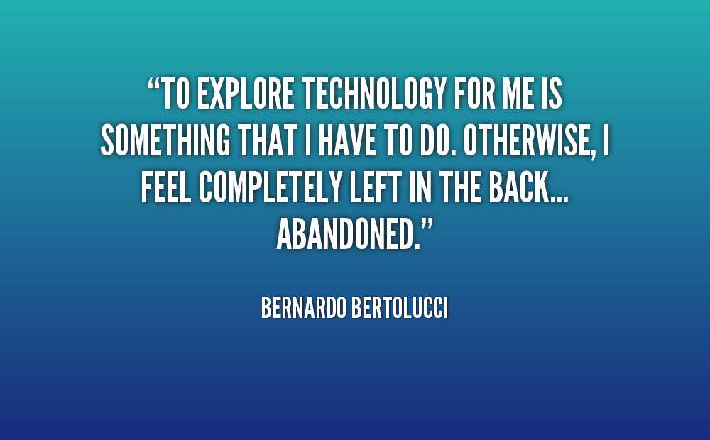 famous quotes about technology  quotesgram