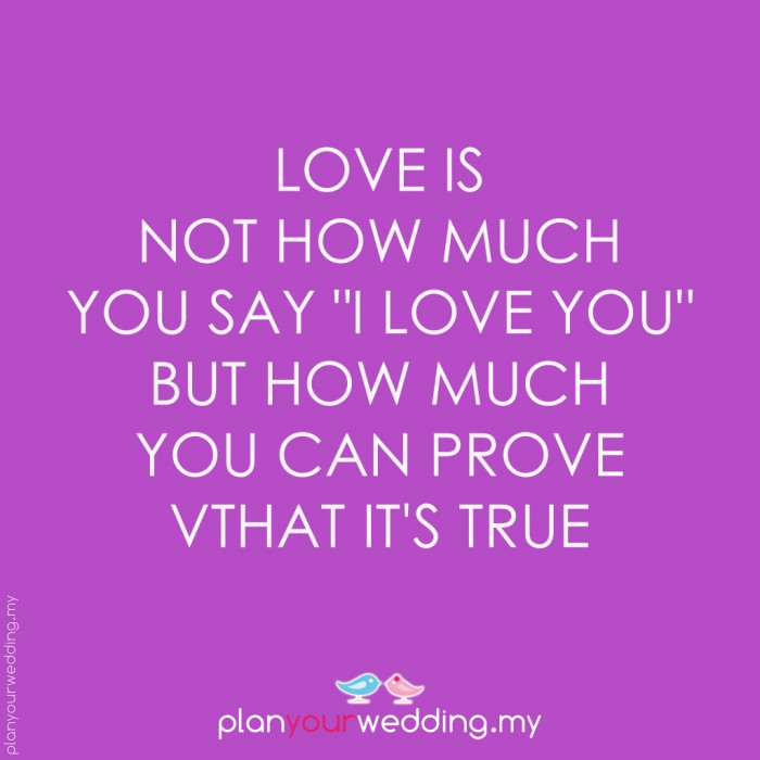 Love Finds You Quote: Prove Your Love Quotes. QuotesGram