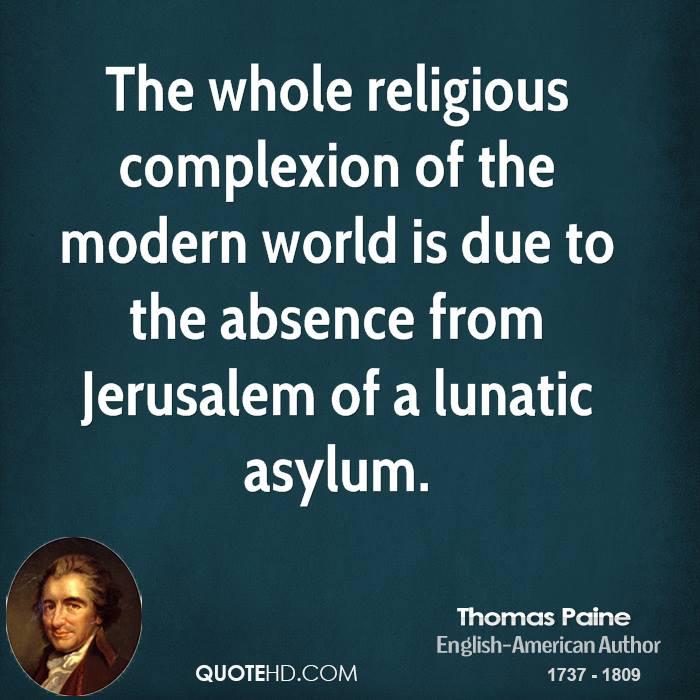 Thomas Paine Quotes: Thomas Paine Religious Quotes. QuotesGram