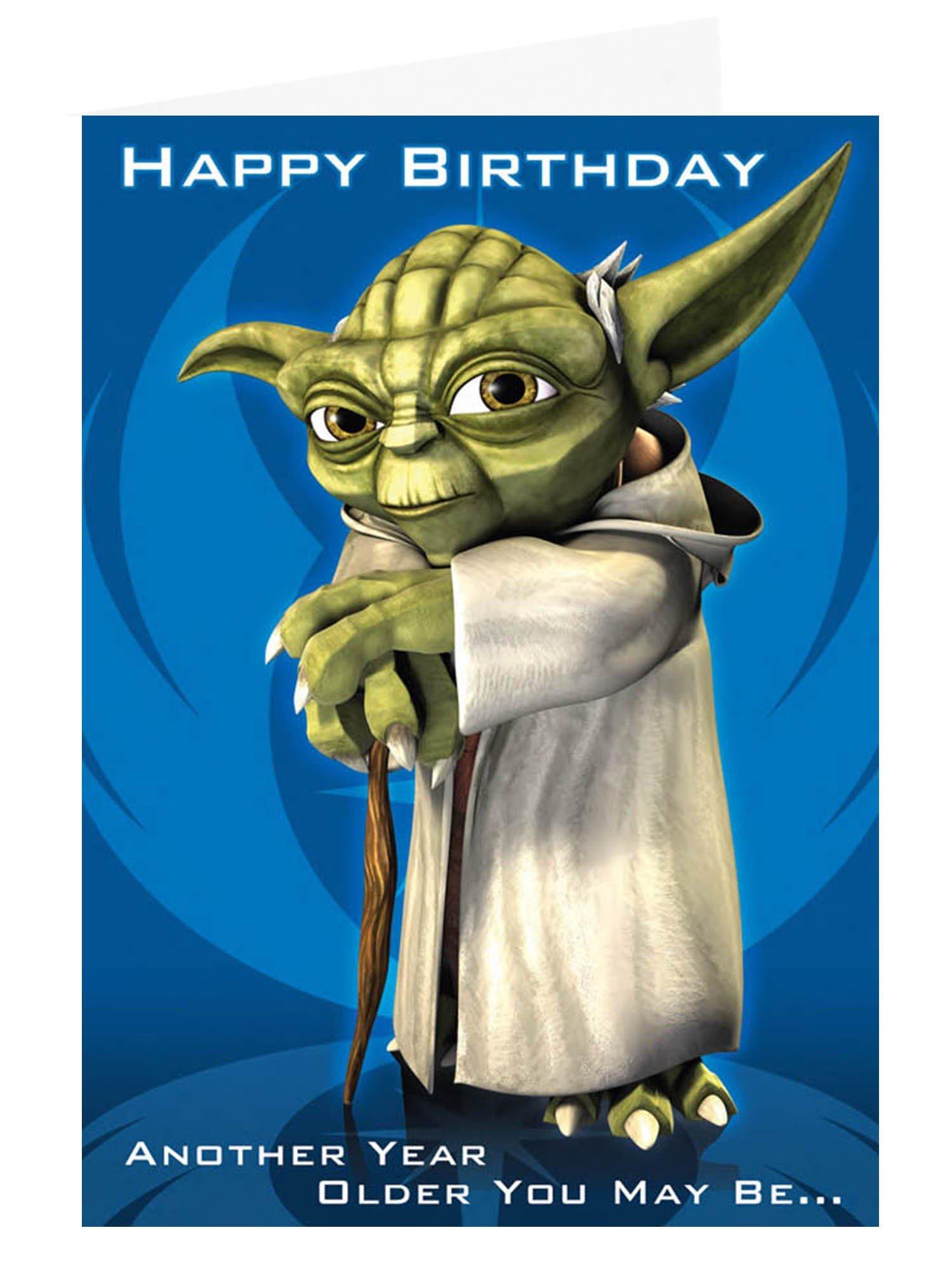 Birthday star wars quotes quotesgram - Bon anniversaire star wars ...