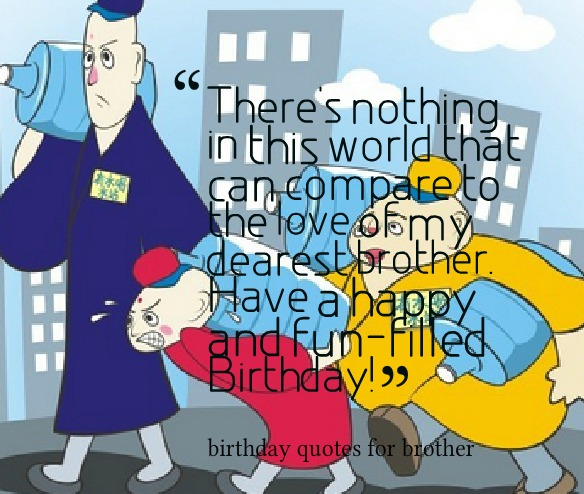 Happy 64 Birthday Quotes: Happy Birthday Brother Funny Quotes. QuotesGram