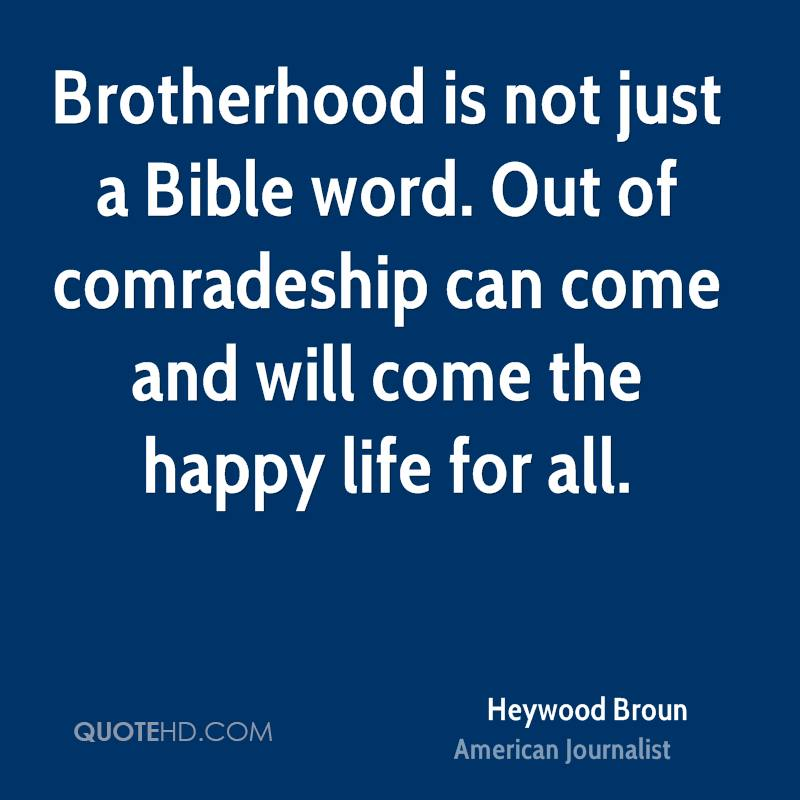 Brotherhood Quotes: Brotherhood Bible Quotes. QuotesGram