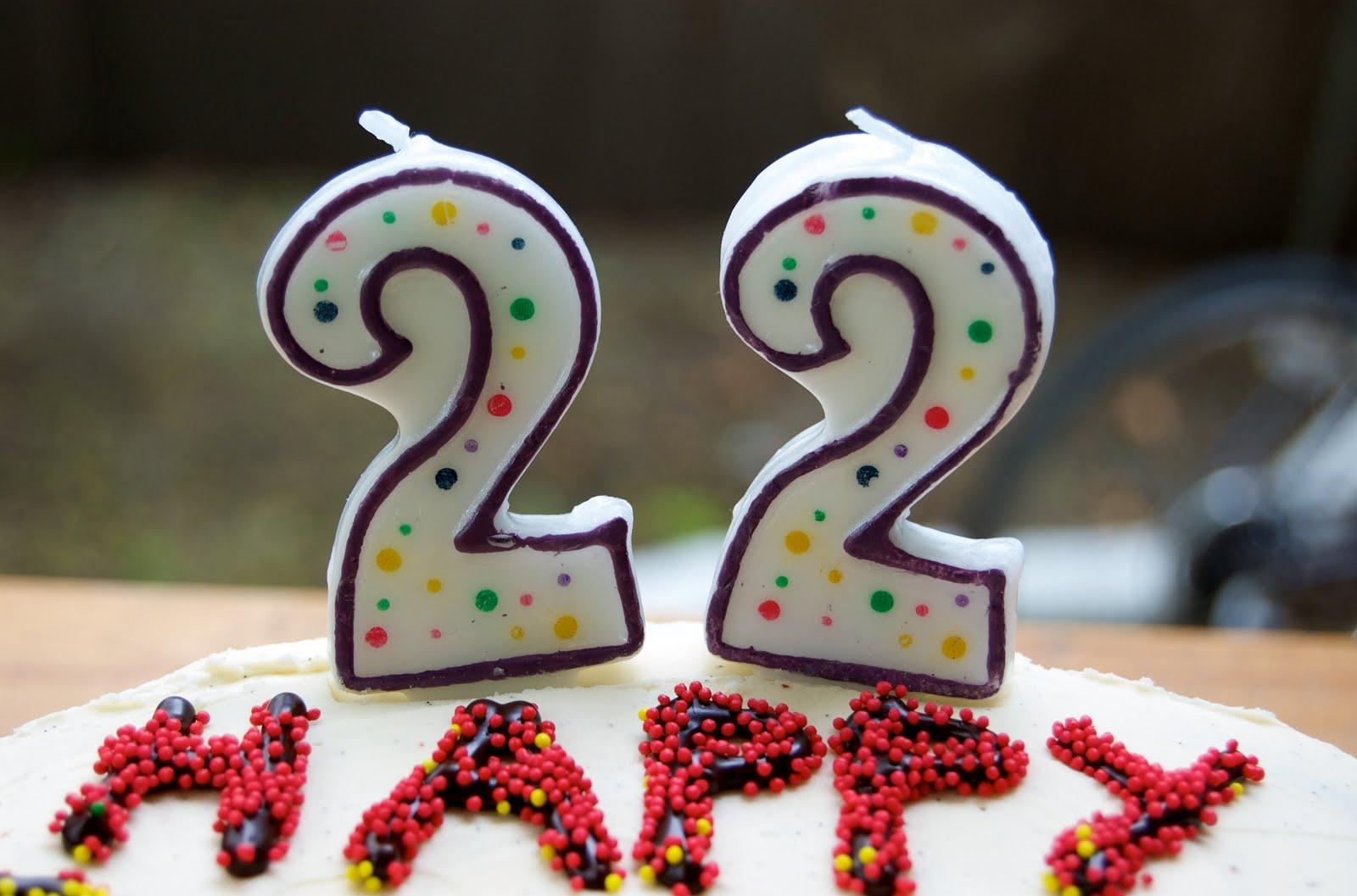 Поздравления с днем рождения подруг с 22