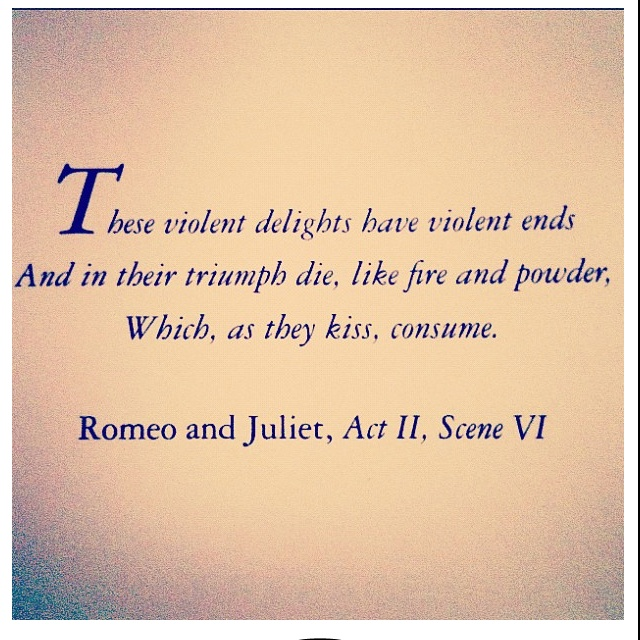 Romeo And Juliet Quotes And Meanings: Quotes From Romeo And Juliet 2. QuotesGram