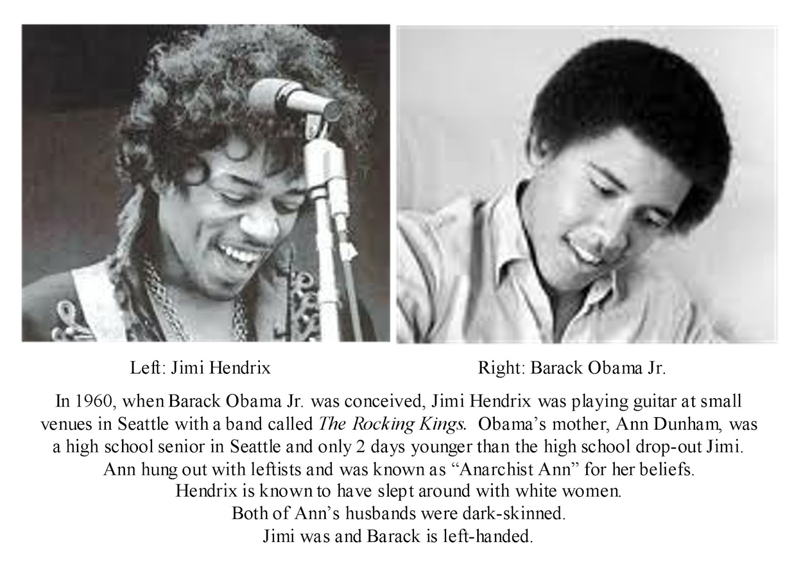 the life history of jimi hendrix the american rock music legend and guitarist James marshall jimi hendrix (born johnny allen hendrix november 27, 1942  – september 18, 1970) was an american rock guitarist, singer, and songwriter.