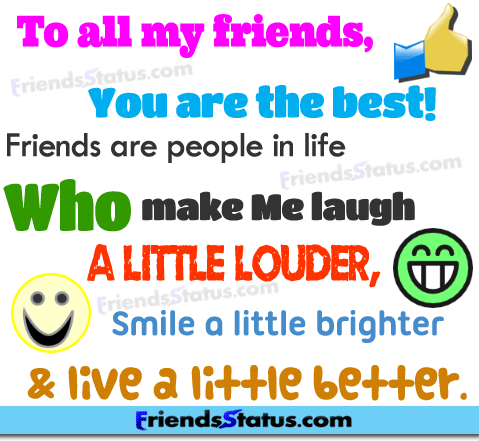status friendship quotes quotesgram