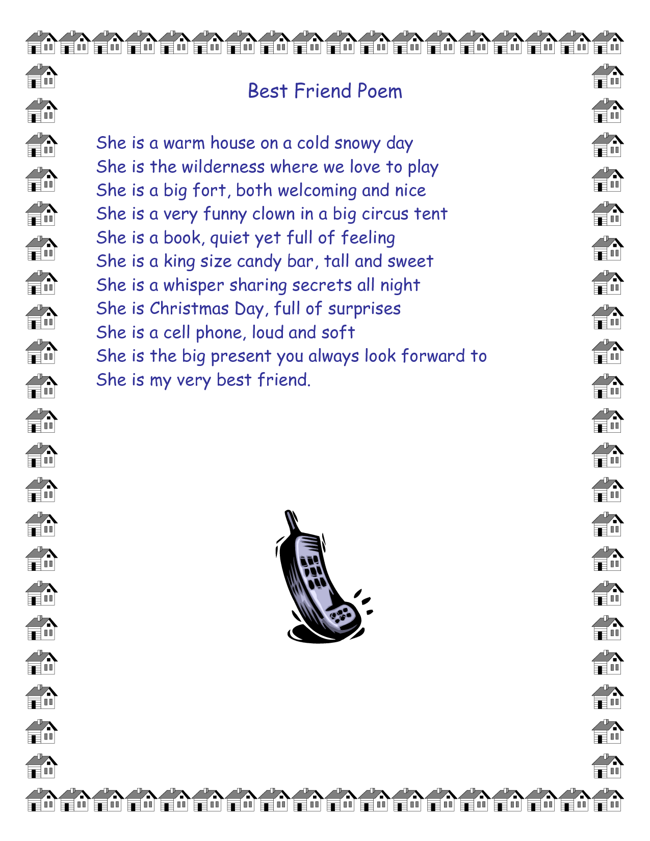 Funny Best Friend Poems Funny Friend Qu...