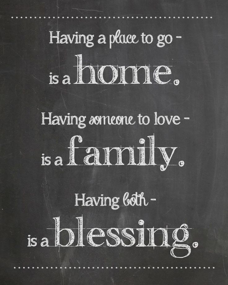 Chalkboard Quotes Family. QuotesGram