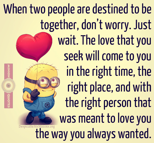 If Two People Are Meant To Be Quotes: Destined To Be Together Quotes. QuotesGram
