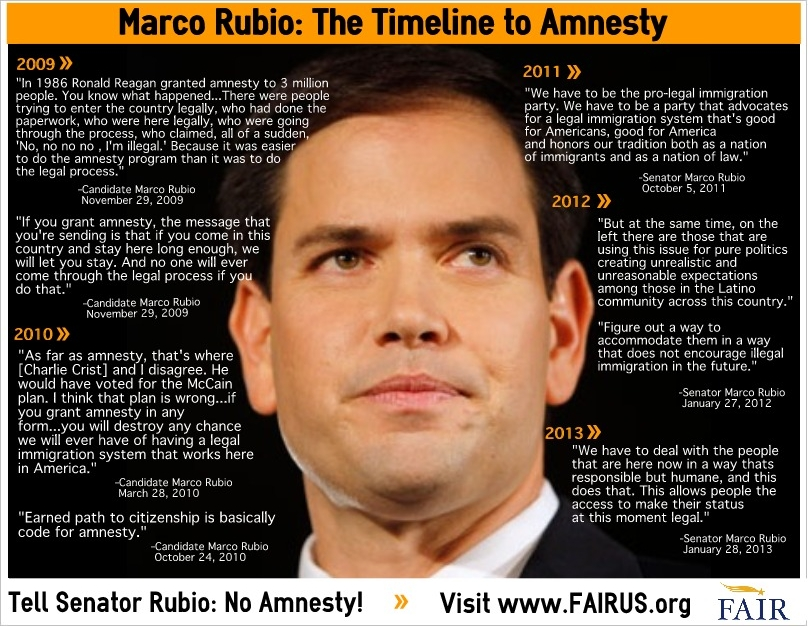 Marco rubio immigration quotes