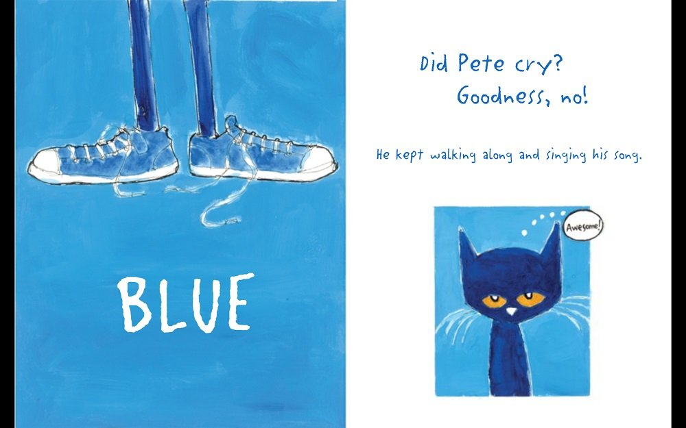 Pete The Cat White Shoes Age